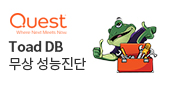 Toad Database 성능진단 프로모션