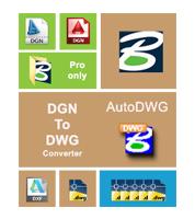 AutoDWG DGN to DWG Converter Pro